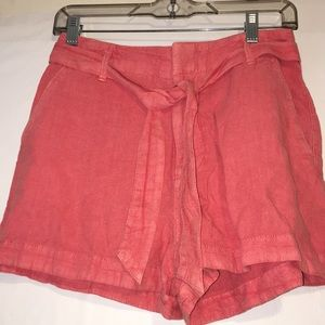 Abercrombie & Fitch Belt Coral Light Shorts-S